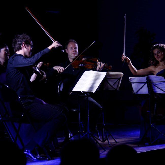 Carducci String Quartet au Festival Clef de Soleil