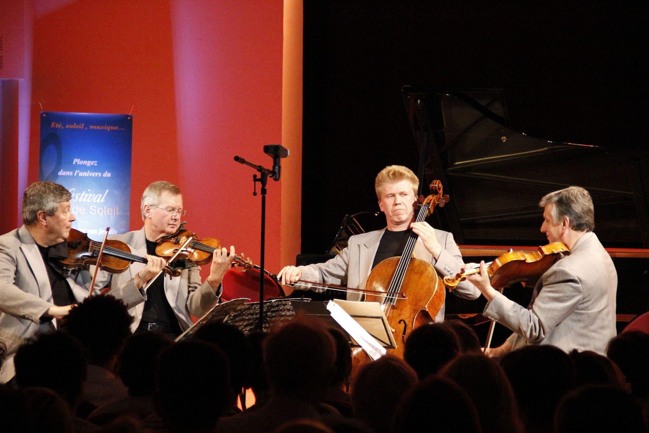 Quatuor Pracžák au Festival Clef de Soleil