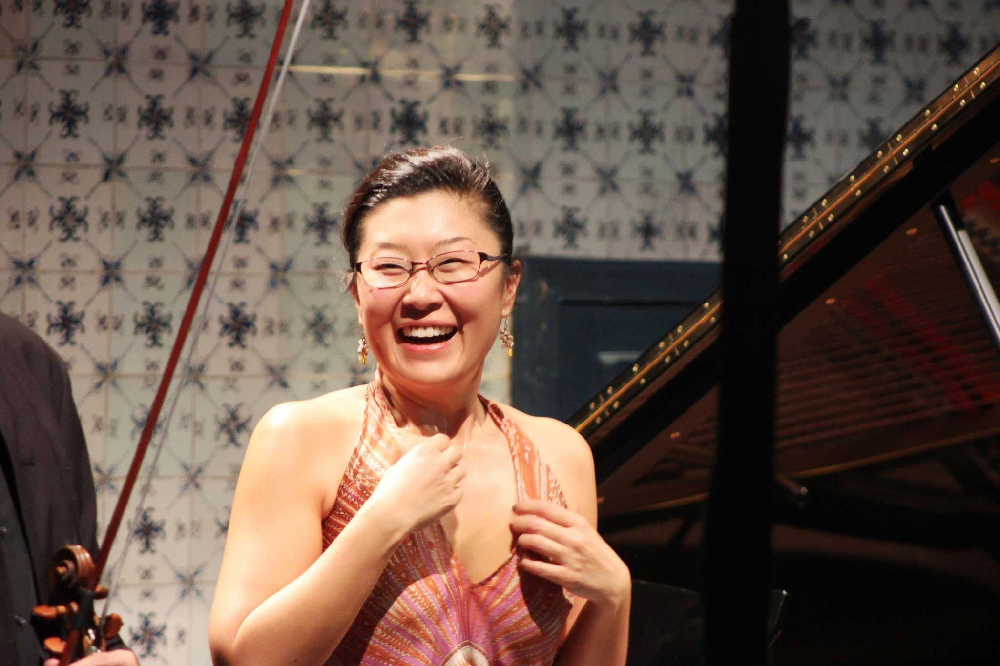 Liza Chung au Festival Clef de Soleil