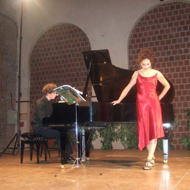 Tristan Raës et Barbara Ducret au Festival Clef de Soleil