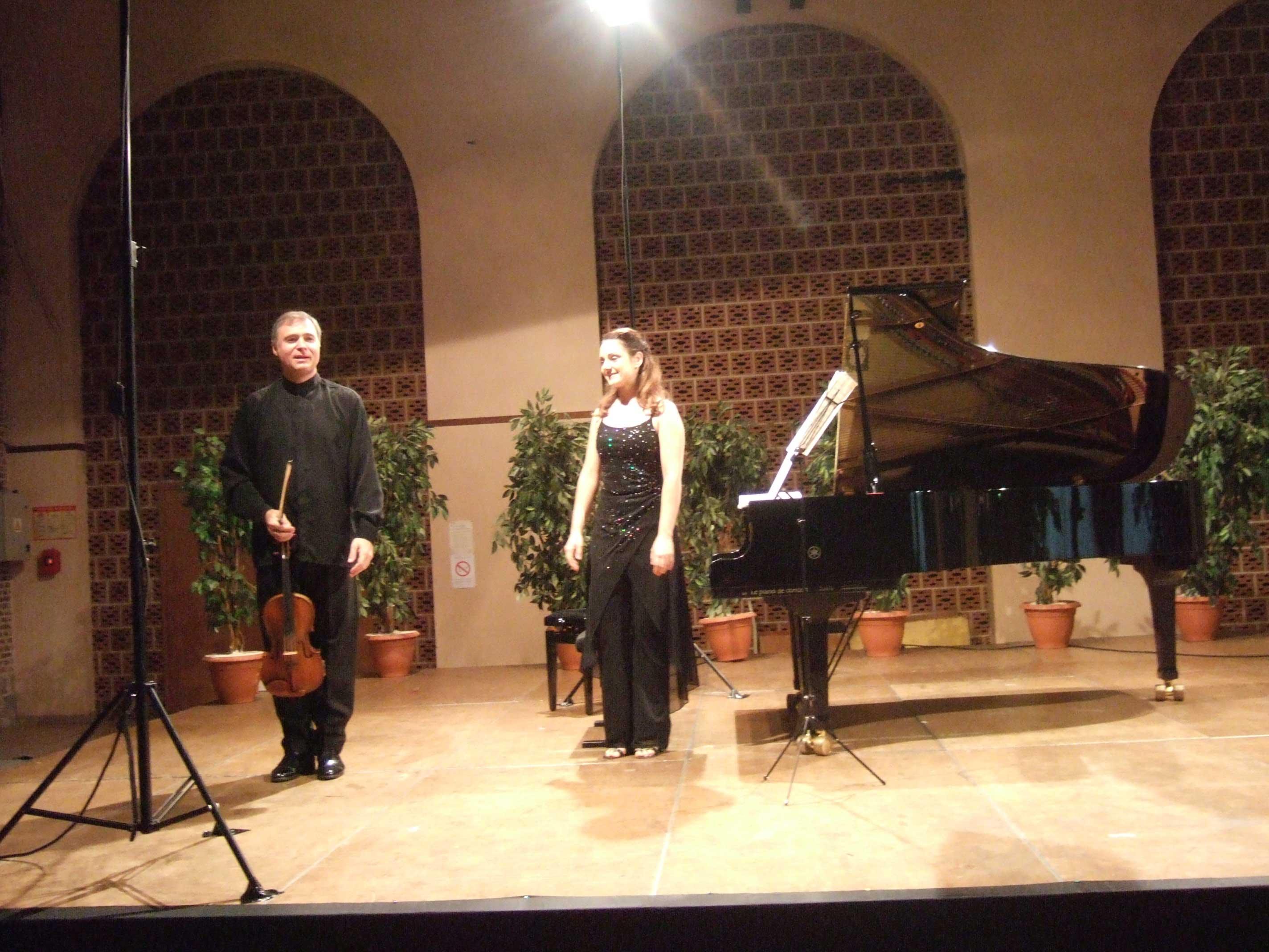 Vladimir Bukac et Emmanuelle Swiercz