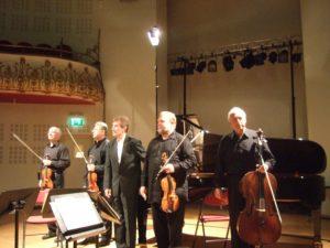 Fine Arts Quartet et Gabriel Tacchino