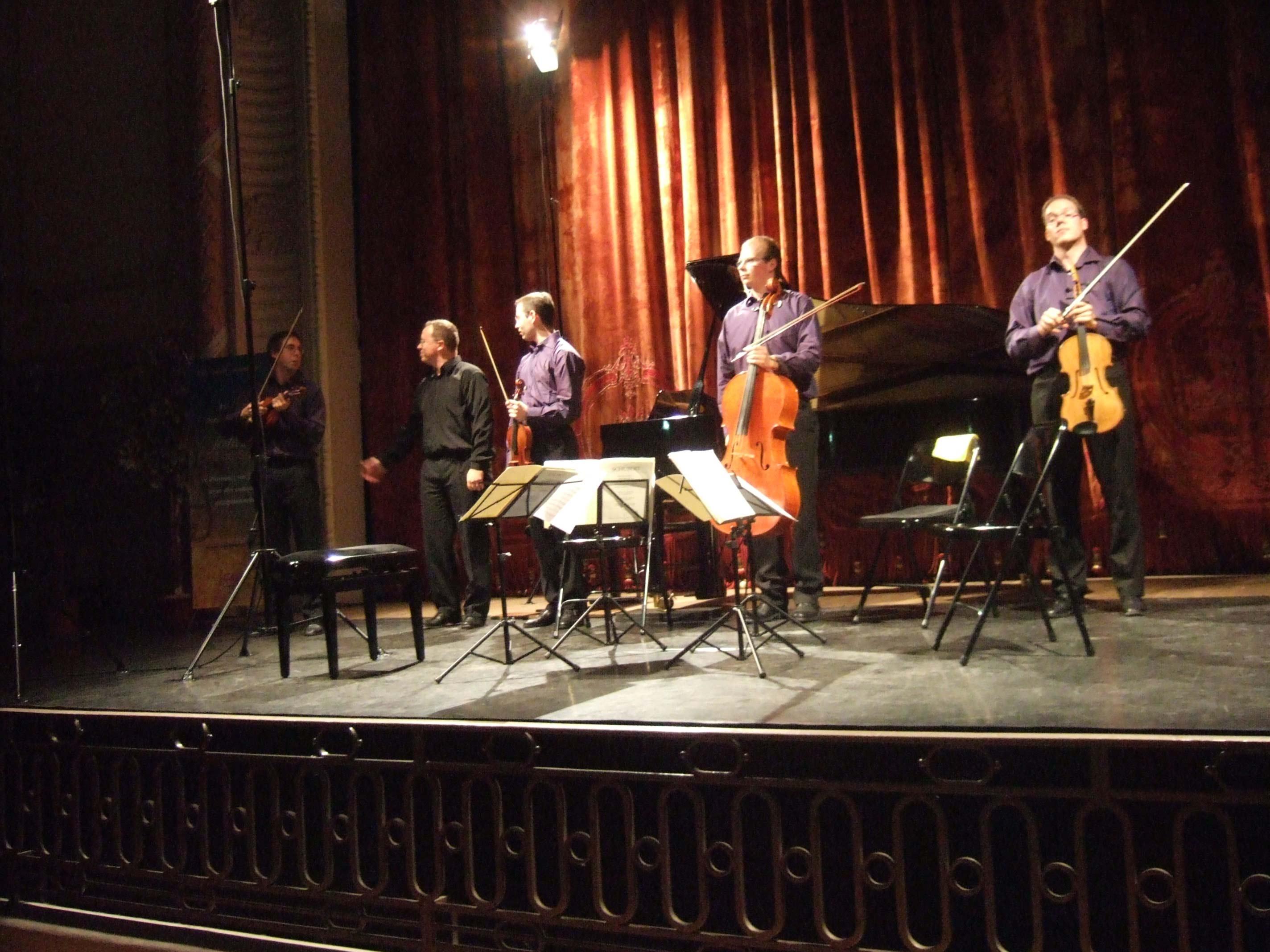 Quatuor Tana et Pascal Thibaux