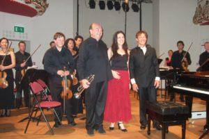 Marylin Frascone, Ensemble Cordes 21 avec Olivier Grandjean et Bernard Soustrot au Festival Clef de Soleil