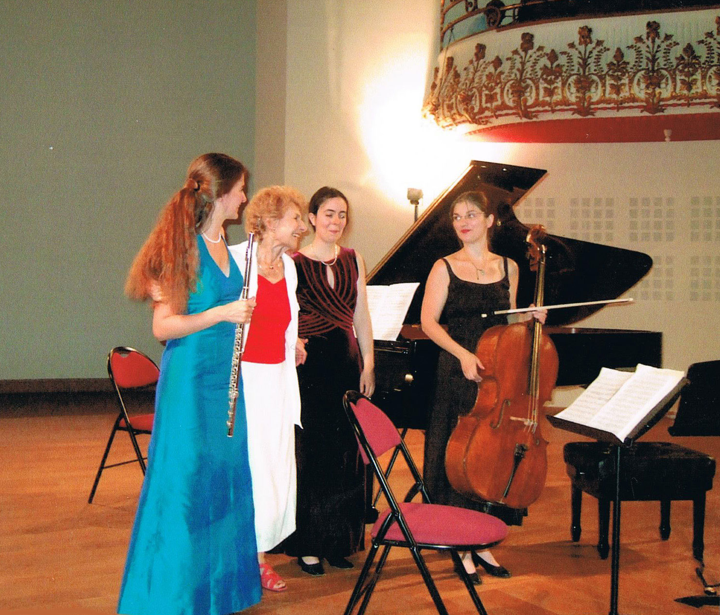 Sarah Louvion, Delphine Bardin, Maryse Castello