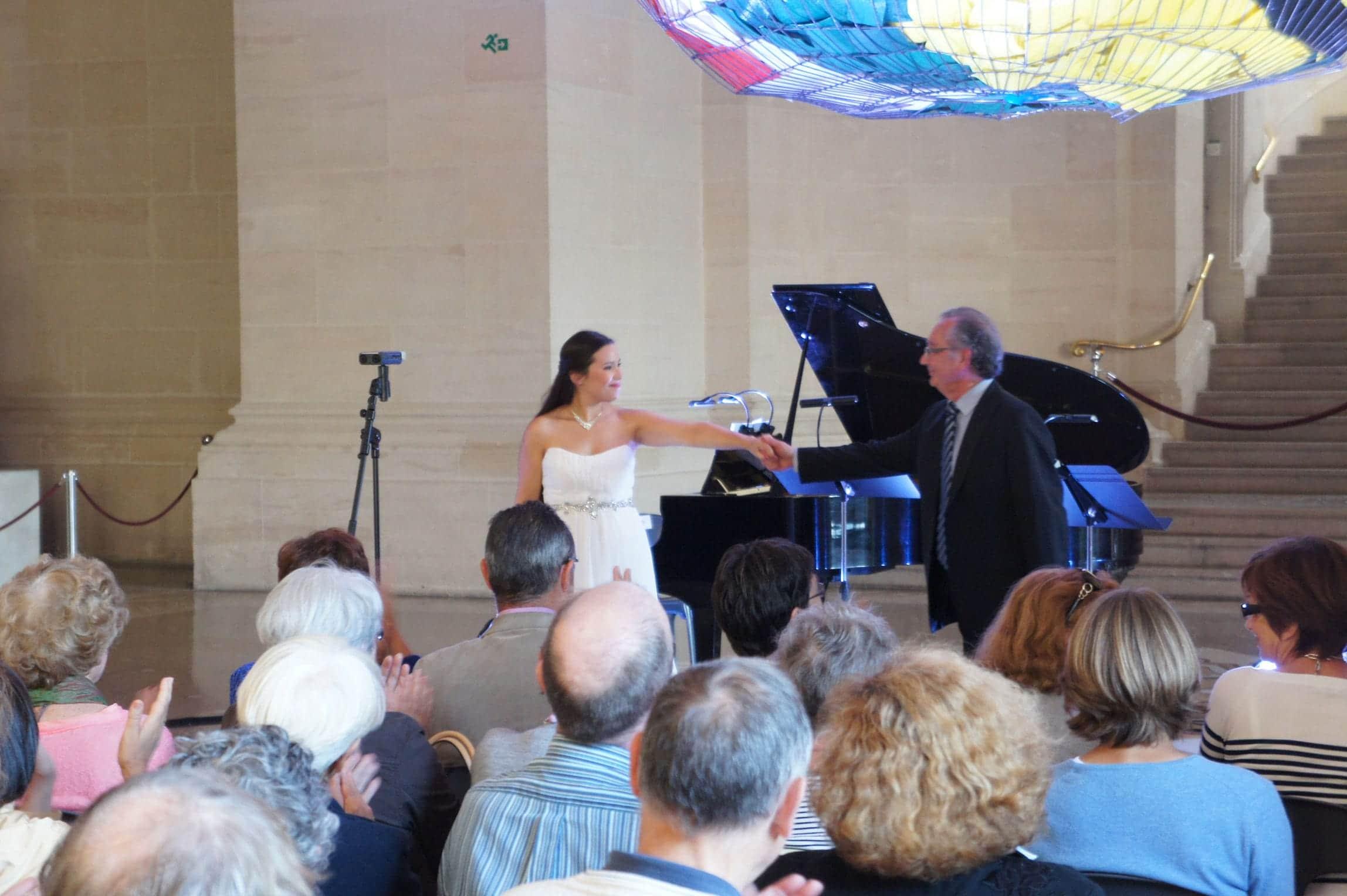 Gabrielle Philiponet et Alain Raës au Festival Clef de Soleil