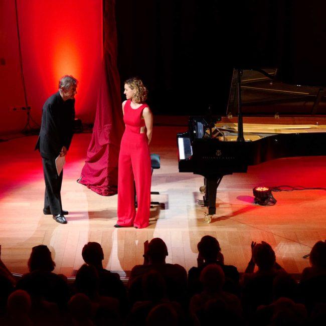 Gabriel Tacchino et Emmanuelle Braun au Festival Clef de Soleil