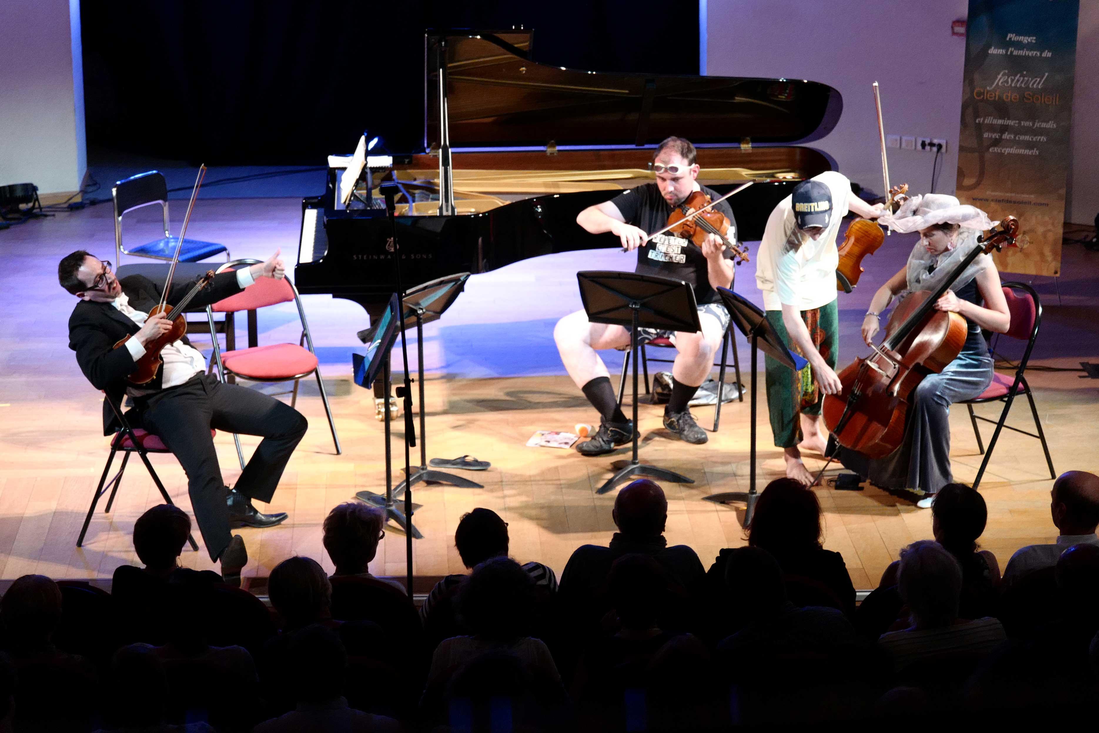 Quatuor Tana au Festival Clef de Soleil