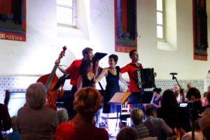 Quatuor SpiriTango au Festival Clef de Soleil