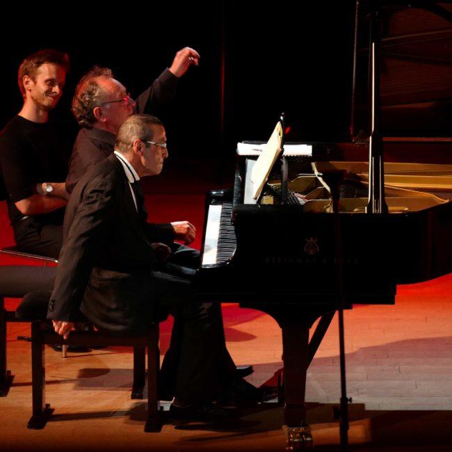 Alain Raës, Alexander Paley et Loïc Serrurier au Festival Clef de Soleil