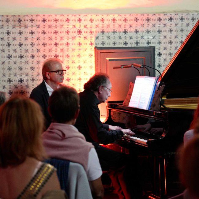 Alain Raës et Denis Simándy au Festival Clef de Soleil
