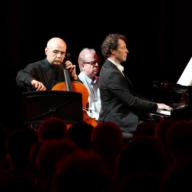 Alexandre Dimitriev, Daniel Propper et Denis Simándy au Festival Clef de Soleil