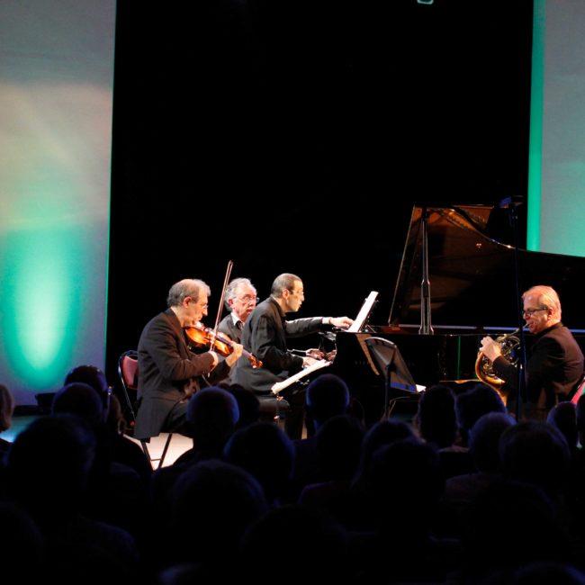 Amiran Ganz, Denis Simándy, Alexander Paley et Alain Raës au au Festival Clef de Soleil