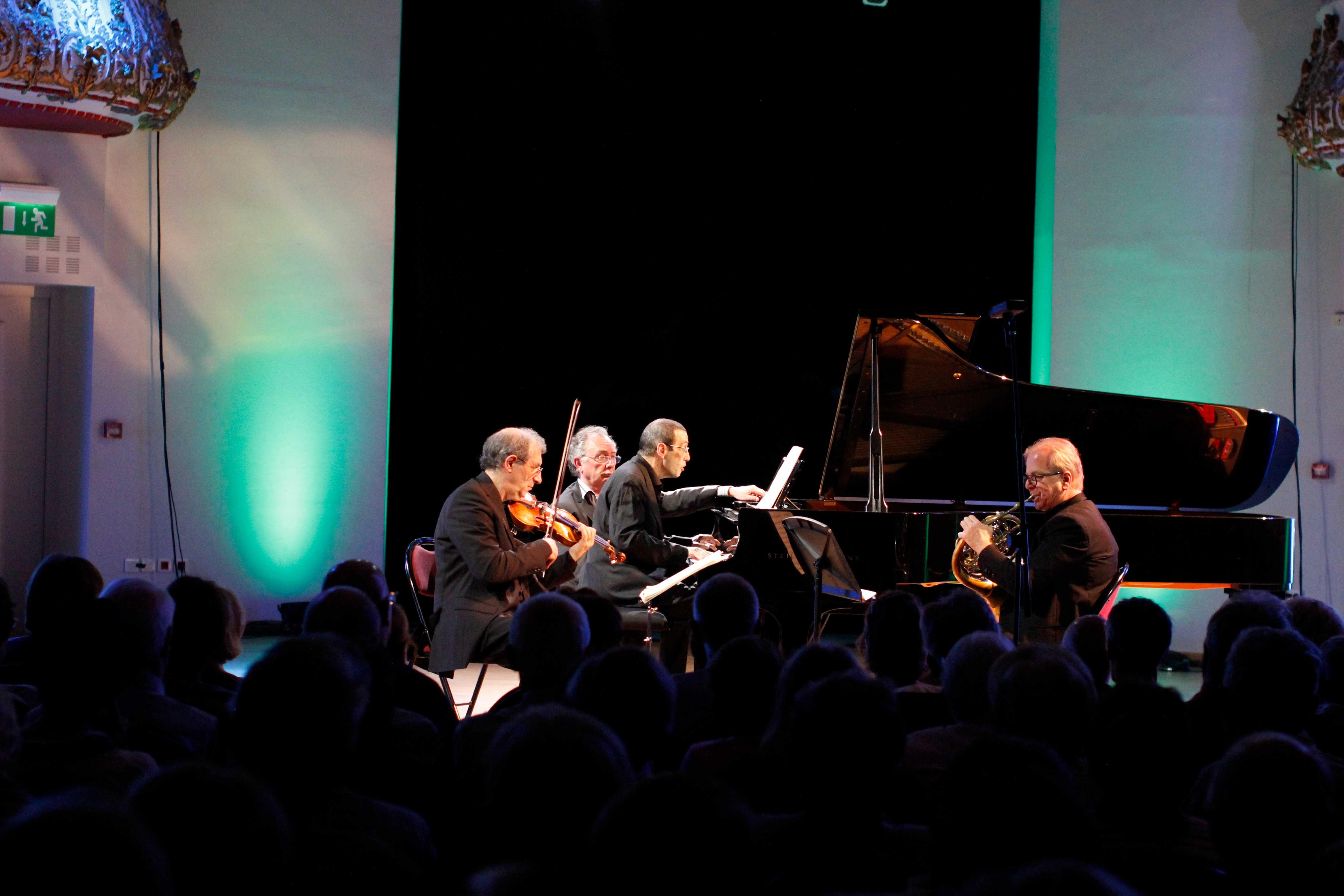 Amiran Ganz, Denis Simándy, Alexander Paley et Alain Raës au Festival Clef de Soleil