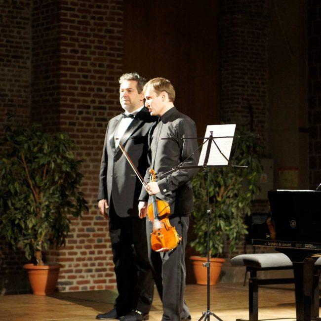 Nikita Boriso-Glebsky et Lovro Pogorelich au au Festival Clef de Soleil