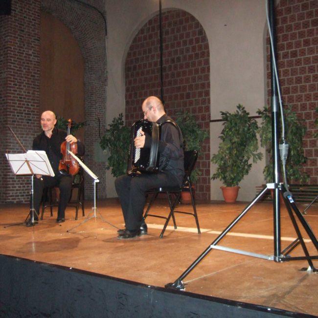 Christophe Desjardins et Theodoro Anzelotti au Festival Clef de Soleil