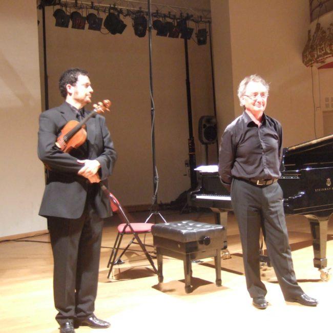 David Nuñez et Alain Raës au Festival Clef de Soleil