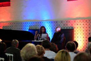 Elisabeth Duda et Francis Perrin au Festival Clef de Soleil