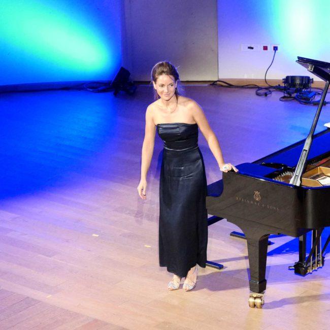 Emmanuelle Swiercz au Festival Clef de Soleil