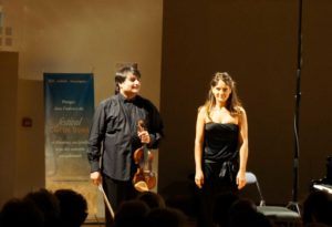 Emmanuelle Swiercz et Graf Mourja au Festival Clef de Soleil