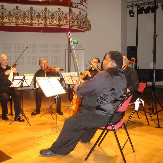 Fine Arts Quartet et Jean-Luc Votano au Festival Clef de Soleil