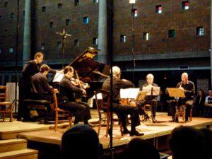 Fine Arts Quartet, Denis Simándy et Charles Michiels au Festival Clef de Soleil