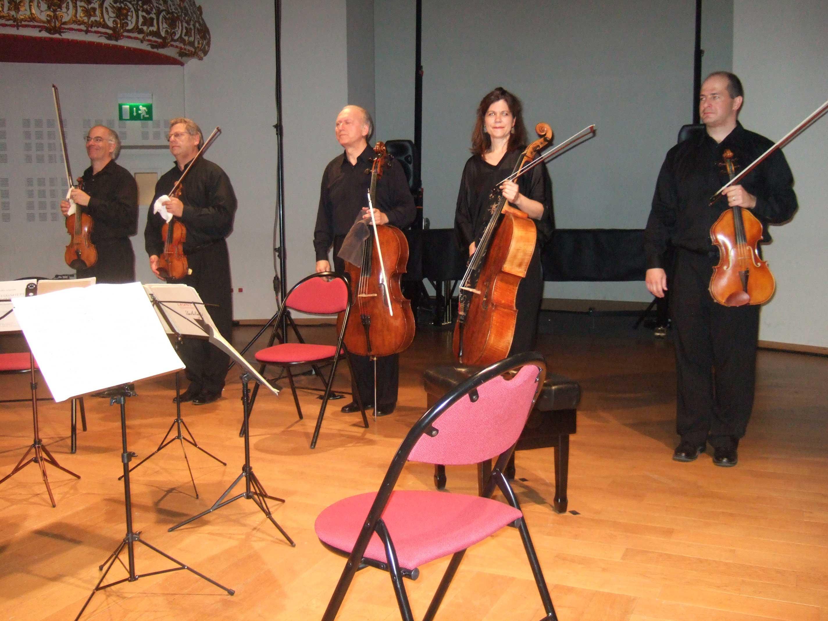 Fine Arts Quartet et Sonia Wieder-Atherton au Festival Clef de Soleil