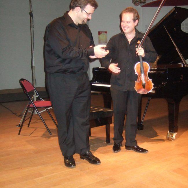 Frederic D'Orcia-Nicolas et Leonard Schreiber au Festival Clef de Soleil
