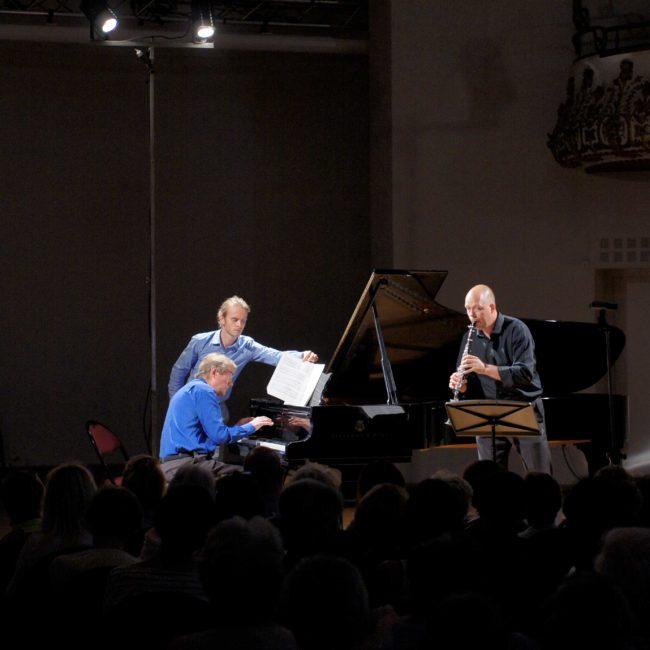Gabriel Tacchino, Loïc Serrurier et Charles Michiels au Festival Clef de Soleil