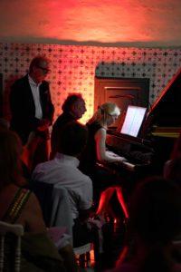 Galina Ermakova, Alain Raës et Denis Simándy au Festival Clef de Soleil