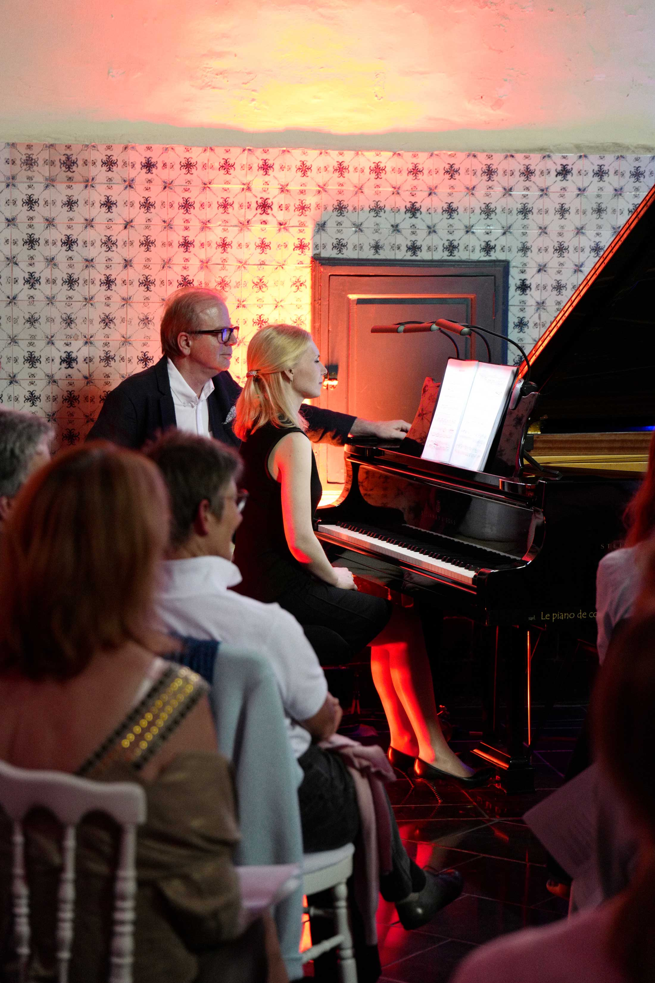 Galina Ermakova et Denis Simándy au Festival Clef de Soleil