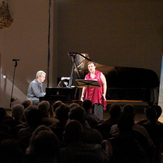 Jean-Noël Remiche et Elise Gäbele au Festival Clef de Soleil