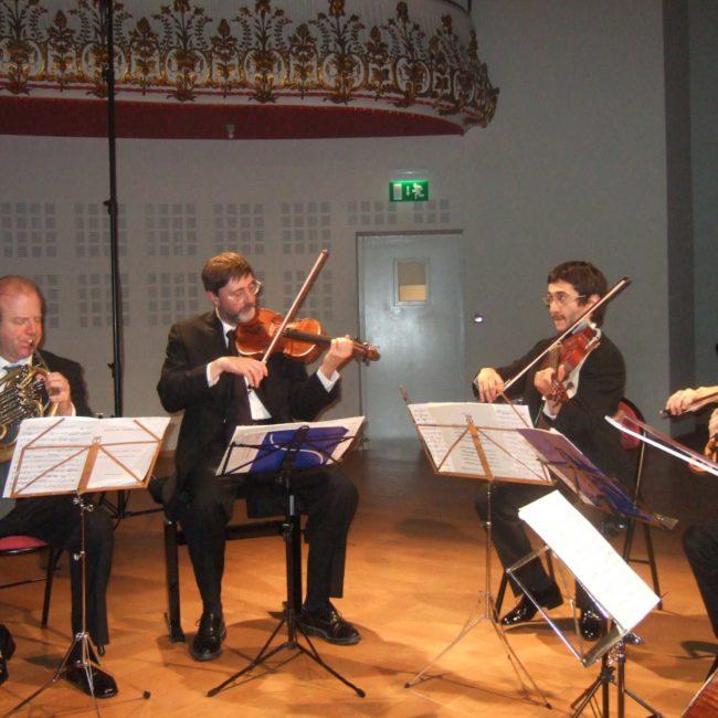 Denis Simándy, Quatuor Danel et Dominica Eyckmans