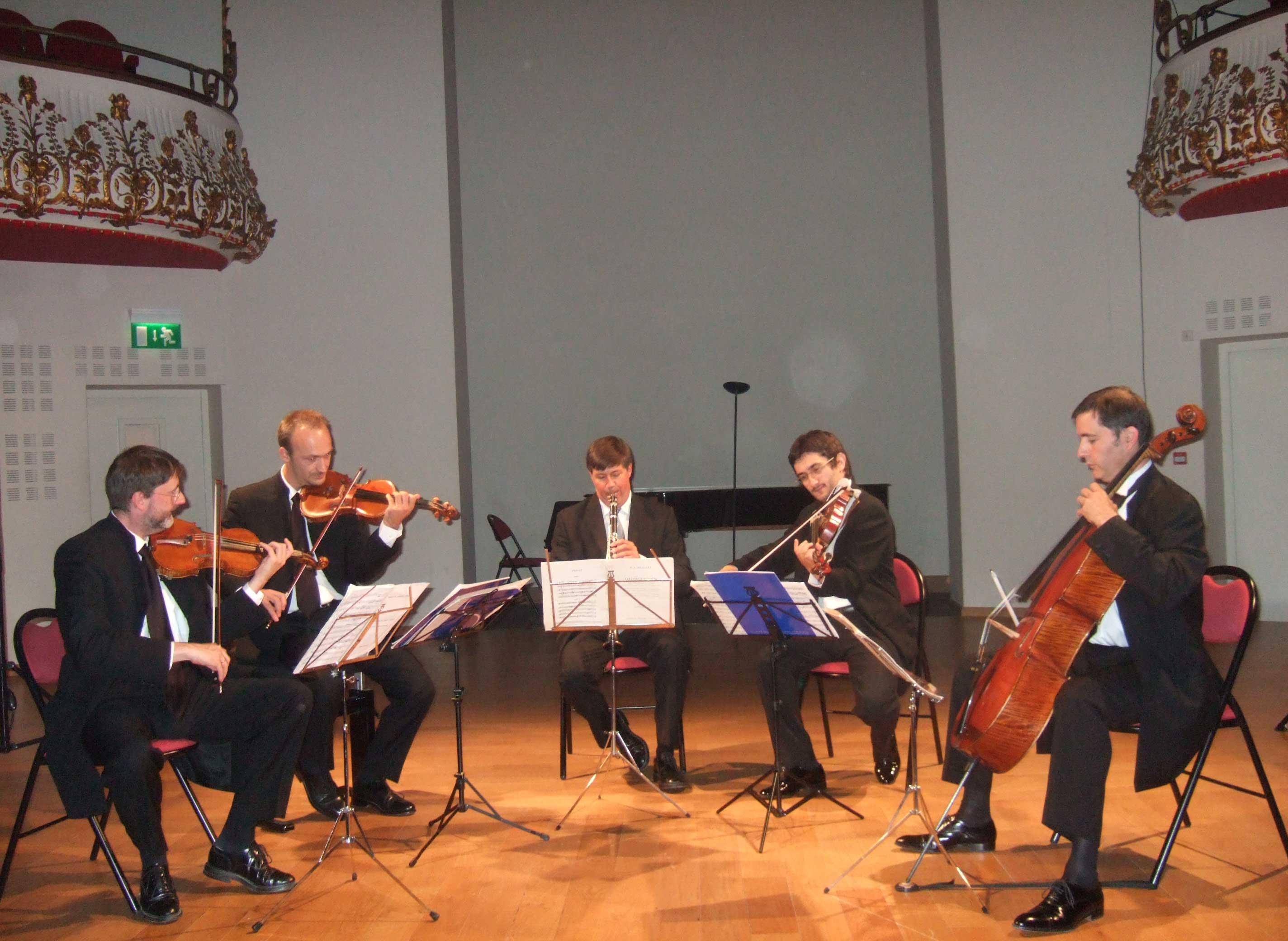 Quatuor Danel et Jean-Michel Charlier