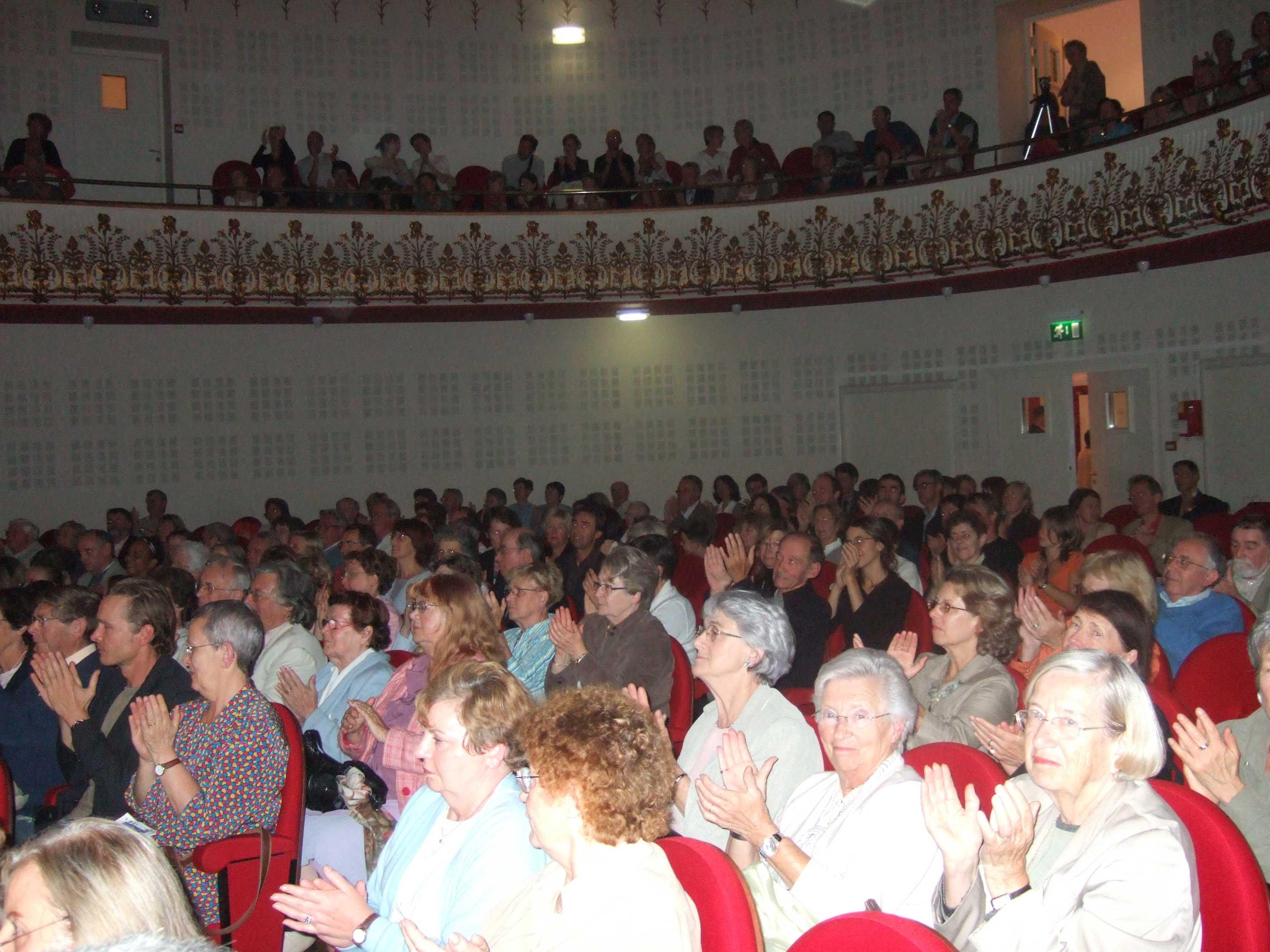 Le public du Festival Clef de Soleil au Conservatoire de Lille