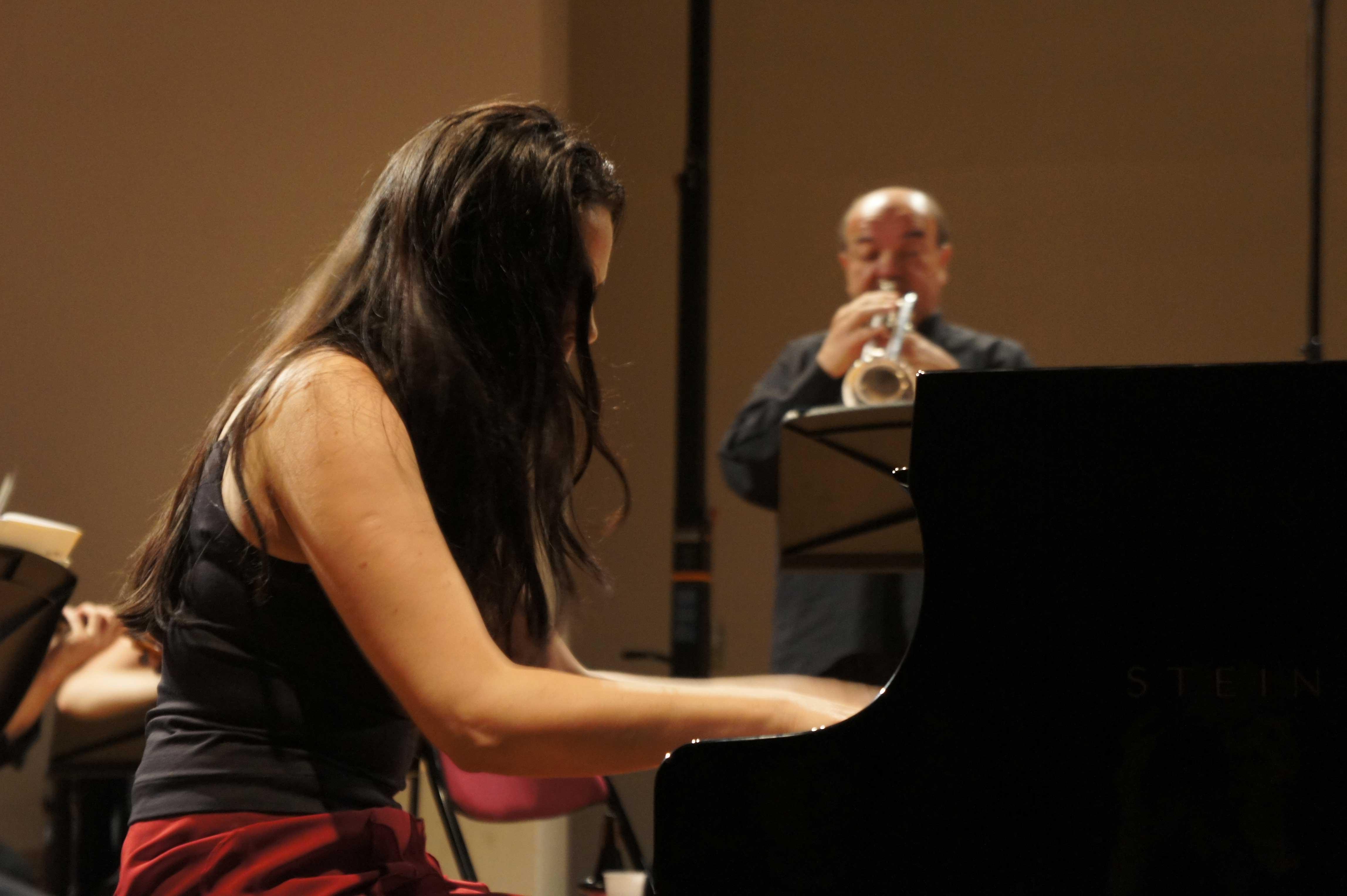 Marylin Frascone et Bernard Soustrot au Festival Clef de Soleil