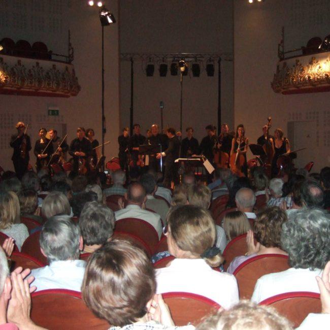 Marylin Frascone, Ensemble Cordes 21 avec Olivier Grandjean et Bernard Soustrot