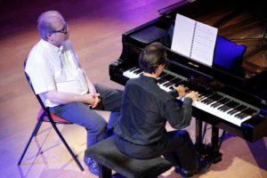 Maurizion Baglini et Denis Simándy au Festival Clef de Soleil