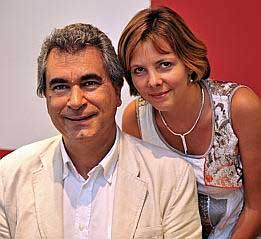 Nicolas Baccri et Eliane Reyes au Festival Clef de Soleil