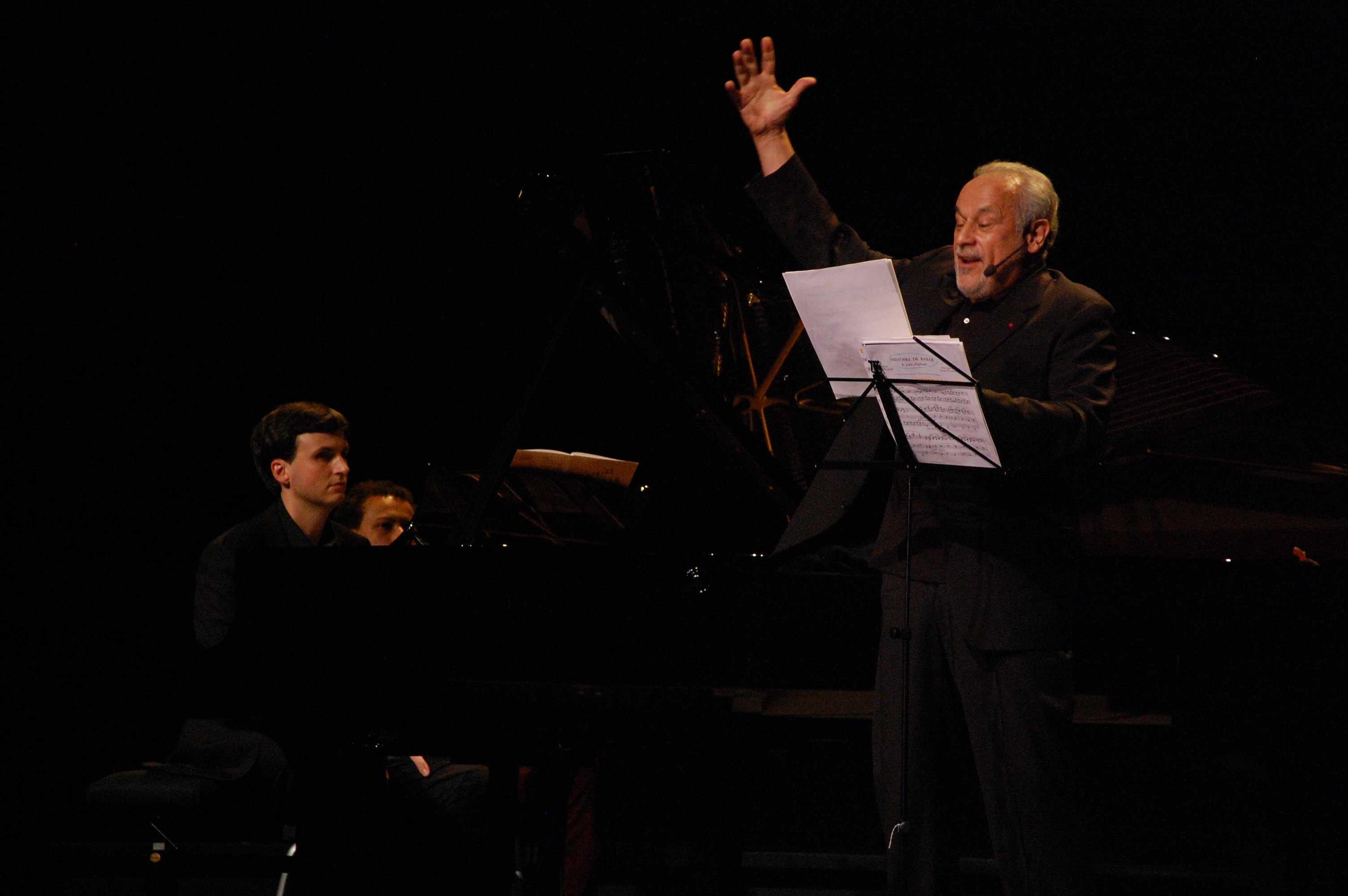 Olivier Moulin et Francis Perrin au Festival Clef de Soleil