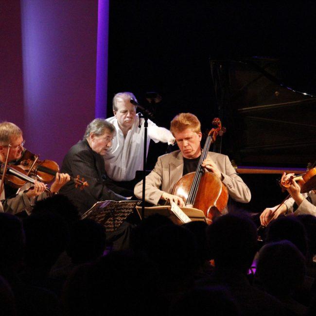 Quatuor Pracžák, Gabriel Tacchino et Denis Simándy au Festival Clef de Soleil