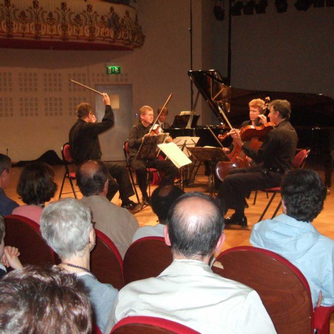 Quatuor Pražák au Festival Clef de Soleil