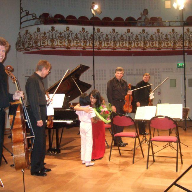 Quatuor Pražák et Shani Diluka au Festival Clef de Soleil