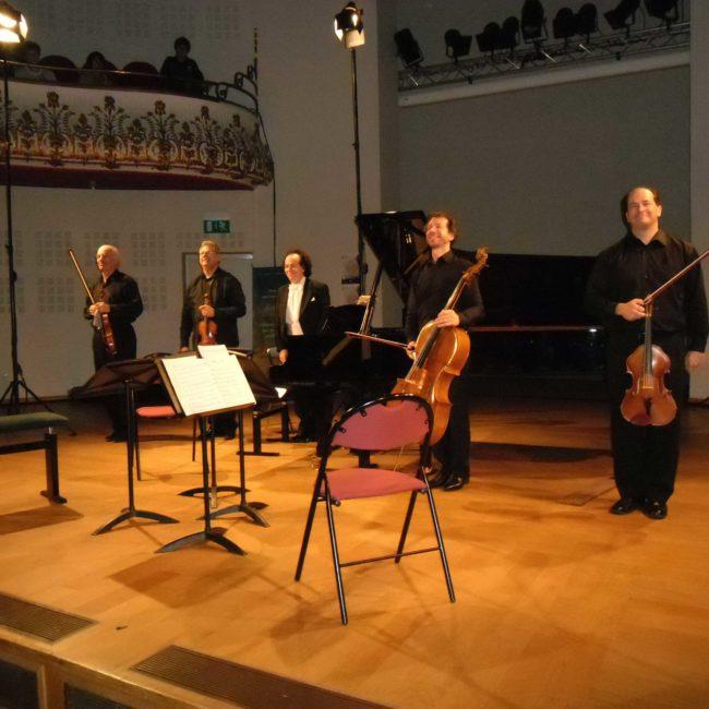 Fine Arts Quartet et Cyprien Katsaris au Festival Clef de Soleil