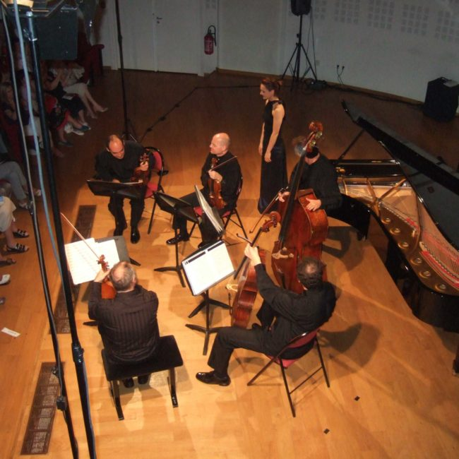 Quatuor Talich et Emmanuelle Swiercz au Festival Clef de Soleil