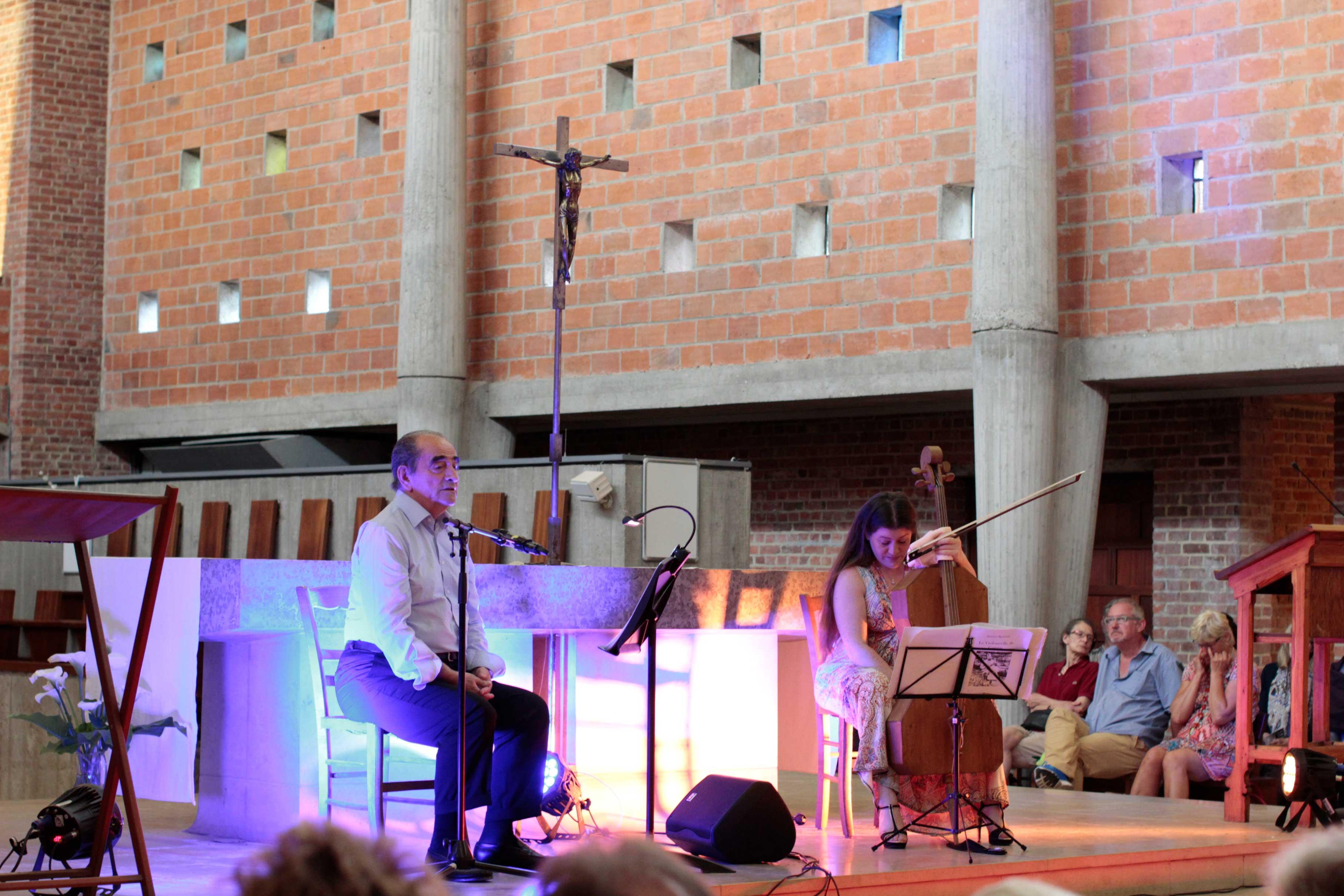 Richard Bogringer et Emmanuelle Bertrand au Festival Clef de Soleil