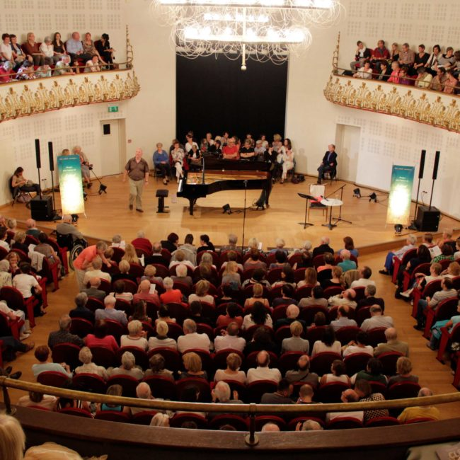 Salle du conservatoire de Lille lors d'un concert du Festival Clef de Soleil