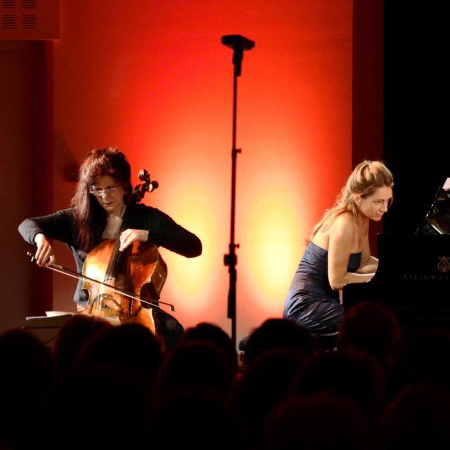 Sonia Wieder-Atherton et Emmanuelle Swiercz au Festival Clef de Soleil