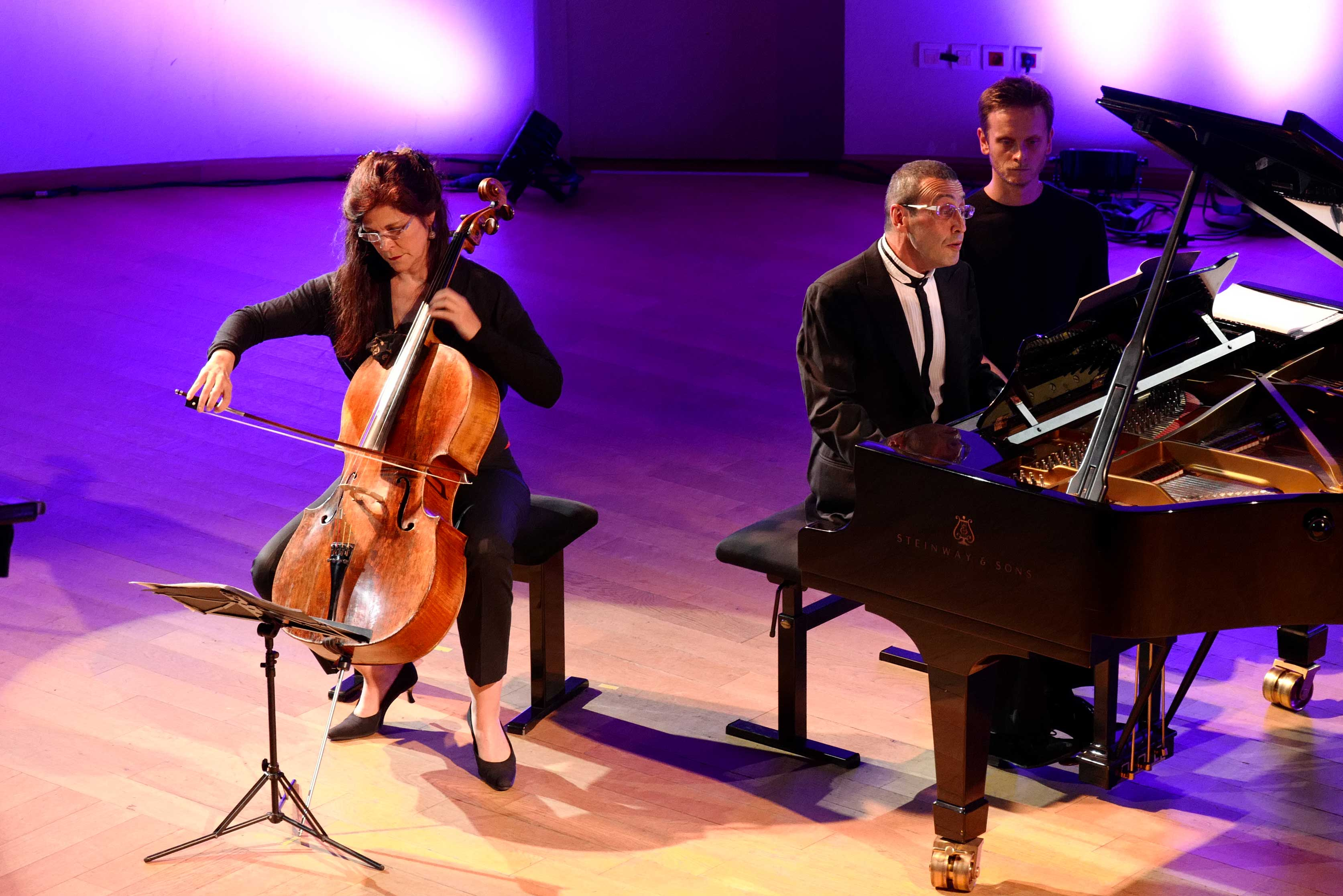 Sonia Wireder-Atherton, Alexander Paley et Loïc Serrurier au Festival Clef de Soleil