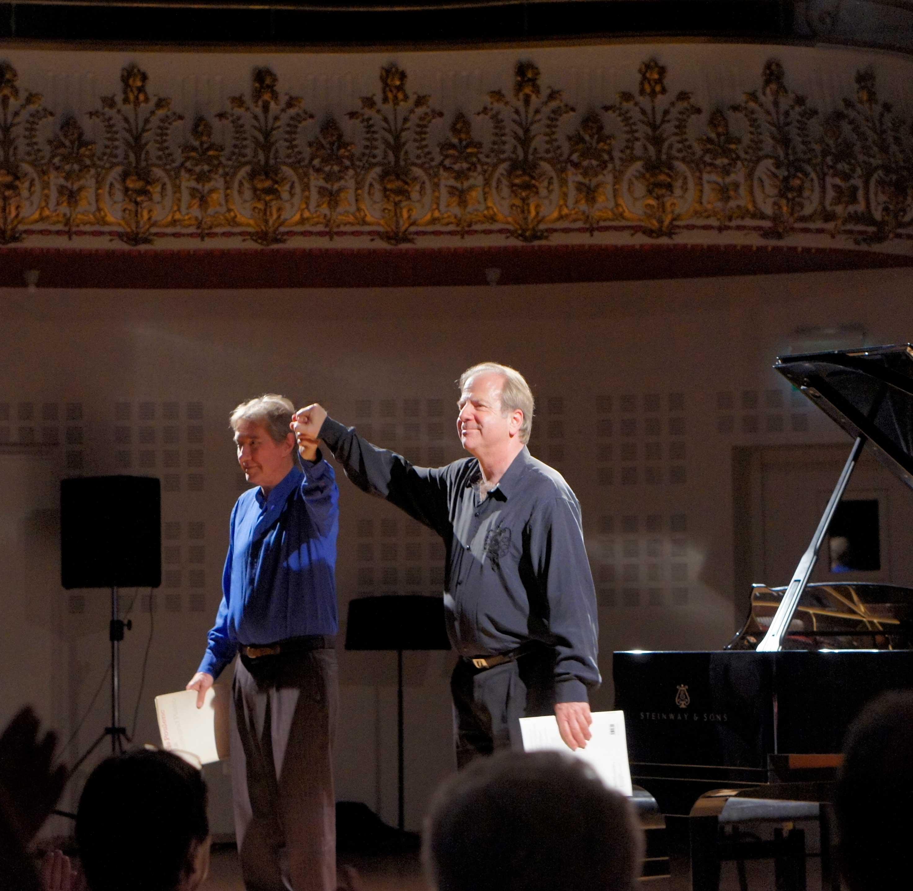 Gabriel Tacchino et Denis Simándy au Festival Clef de Soleil